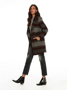Abrigo de lana termosellado