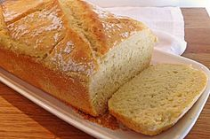 Brot Alternative 1: Cornbread - Amerikanisches Maisbrot