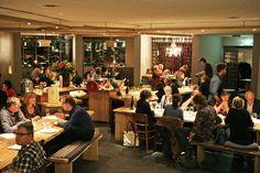 Restaurant As | in het voormalige Sint Nicolaas Kapel aan het Beatrixpark (Prinses Irenestraat 19, bij Zuidas/Beethovenstraat). Leuk buitenterras. (Zuid)