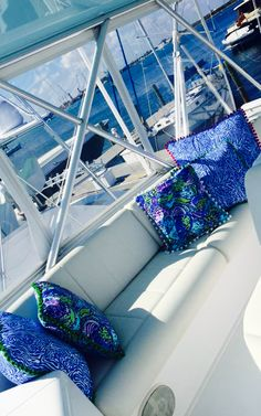Can I have Lilly pillows on my boat too?