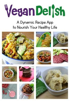Easy, summer recipes featured on the healthy cooking app, Vegan Delish, available for your iPhone or iPad. Download from the iTunes app store! :)