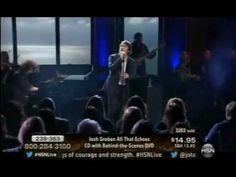 I love this song.  Beautifully sung.  01-18-2013 Josh Groban HSN Concert-- False Alarms