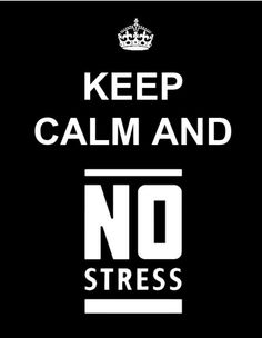 no stress with the LESS STRESS course
