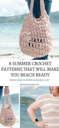 Summer crochet ideas. Beach crochet patterns. Summer crochet patterns. Summer crochet top pattern. Summer crochet pattern. Summer crochet beach bag. #summercrochet #beachbagcrochet #summercrochetpatterns #crochetpatterns #crochet