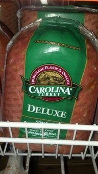 Carolina: Turkey Ham.  http://affordablegrocery.com