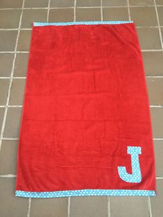 Toalla personalizada. RED-Blue Picnic Blanket, Outdoor Blanket, Picnic Quilt