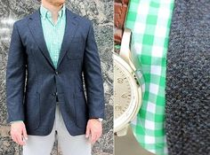 J. Abboud Soft Construction Sportcoats | The Best Looking Affordable Blazers of Spring 2015 on Dappered.com