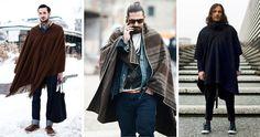 Неочевидный тренд: Как носить мексиканские пончо и серапе, если очень хочется.