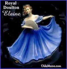 Royal Doulton Figurine Elaine
