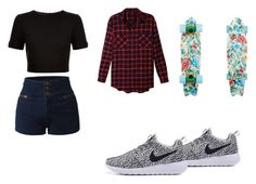 Tomboy by kiana-janea on Polyvore featuring LE3NO and Ted Baker