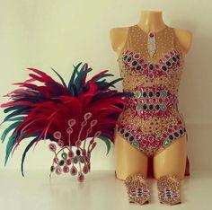 Mangueira Bodysuit Covered Up Samba Costume