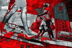 "Saatchi Art Artist Mikhail Dontsov; Photography, """"New York"" Monotype"" #art"