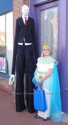 Scariest Slenderman Costume – All Homemade! ...This website is the Pinterest of costumes