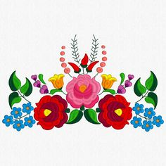 Beautiful Kalocsa Design/ embroidery pattern for sale. 9