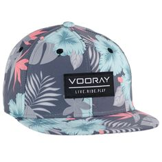 - 100% Polyester - Mahalo digital print - Snapback closure - One size fits all