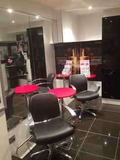 Our private consultation room at Ellee's Hair Design