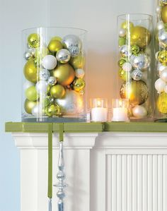 Christmas Decorating Ideas...simple but beautiful..