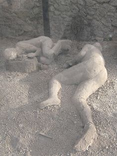 """Clothes were definitely burned - bodies were surprisingly intact, reminiscent of the wife of Lot turning to """"pillar of salt"""" during the Destruction of Sodom & Gomorah"""