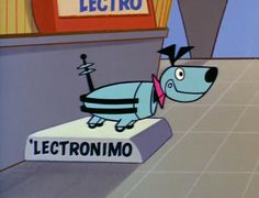 'Lectronimo - the nuclear-powered dog of the future