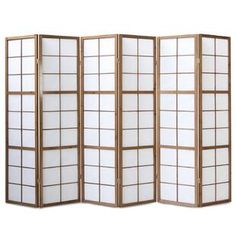 Mabrouka 6 Panel Room Divider World Menagerie Colour: Brown, Anzahl der Paneele: 6 Paneelen Constellation Room, Mystery Room, Oak Dining Sets, Marble Room, Decorative Room Dividers, Butterfly Room, 4 Panel Room Divider, Sala Grande, Diy Home