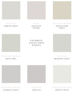 Gray Paint Choices Because It's Awesome: One Room Challenge // Week 2