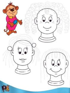 Pre Writing, Writing Skills, Kindergarten Worksheets, Worksheets For Kids, Motor Activities, Educational Activities, Coding For Kids, My Little Baby, Kids Education