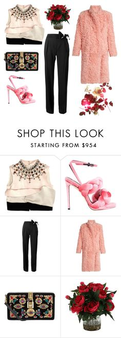 """""""Try woy"""" by golyvegg ❤ liked on Polyvore featuring Marni, Marco de Vincenzo, Lanvin, Preen and Dolce&Gabbana"""