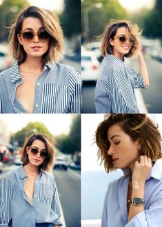 Hottest Short Hairstyles for Women 2019 - frisuren frauen frisuren männer hair hair styles hair women Short Hairstyles For Women, Pretty Hairstyles, Hairstyle Ideas, Hairstyle Man, Hairstyle For Women, Thick Hair Hairstyles Medium, Short Straight Hairstyles, Short To Medium Haircuts, Haircuts For Thin Hair