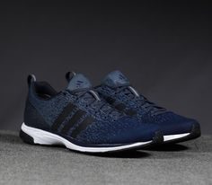 adidas Primeknit 2 0–Dark Onyx-Collegiate Navy-Black