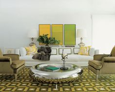 7 Ways To Make A Design Statement In Your Living Room  - ELLEDecor.com