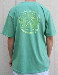 Widespread Panic Rebirtha Recycled Tee by Dirtball 6.5 waterbottles per shirt and made in the U.S.A.