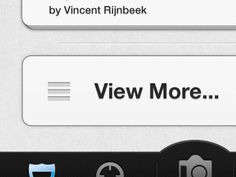 Dribbble - iPhone App Button and Nav by Ben Bate