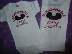 Free 2 Day Shipping in US Disney Vacation Shirts the Family Bundle