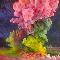 Abstract Liquid Experiments by Kim Keever | Inspiration Grid | Design Inspiration