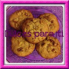 Cookies miel y nueces