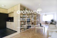 archiweb.cz - Přestavba panelového bytu na Pankráci
