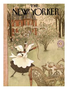 Charming 1930's New Yorker cover