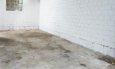 Garagenbodenfarbe Garage Boden, Terrazzo, Tile Floor, Flooring, Diy, Refurbishment, Basement Steps, Potting Soil, Bricolage