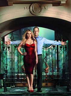 Chris Meloni e Anna Paquin - True Blood
