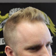Short Pompadour - Best Hairstyles For Balding Men - Best Haircuts and Hairstyles For Balding Men: Good Haircut Styles For Men with Bald Spots, Thinning Hair and a Receding Hairline Haircuts For Balding Men, Trendy Mens Haircuts, Thin Hair Haircuts, Boy Hairstyles, Cool Haircuts, Men's Hairstyle, Hairstyles For Balding Crown, Bald Haircut, Haircut Men