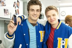 Beau(Matty) and Brett(Jake) from Awkward! love them and love this show.....matty is my favorite<3
