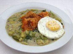 Kelový prívarok s kuracím soté Fresh Rolls, Hummus, Risotto, Curry, Breakfast, Ethnic Recipes, Foods, Art, Red Peppers