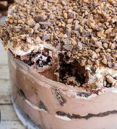 If you love chocolate, this show-stopping trifle is bound to hit the spot!