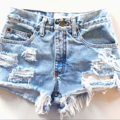 I really want some high waisted shorts like these!