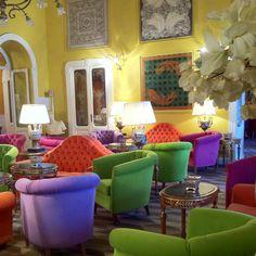 Colourful Grand Hotel Tremezzo