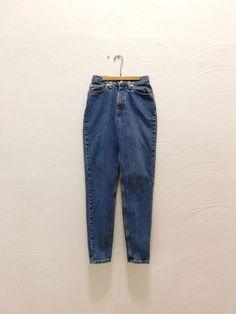 Vintage Levis 512 90s High Waist Slim Fit by RedsThreadsVintage