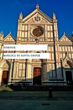 Basilica di Santa Croce en Firenze