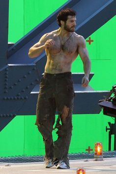 I never liked men with hairy chests, then along came Henry Cavill and Chris Evans I must say they would be a perfect tag team.to hell with the tag, they would be just a great trio after adding Chris Hemsworth. Hairy Hunks, Hairy Men, Bearded Men, Men Beard, Hugh Wolverine, Thank You Lord, Hommes Sexy, Hairy Chest, Shirtless Men