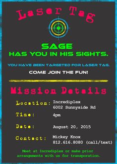 Free printable laser tag invitations template birthday pinterest laser tag paintball birthday invitation 5 x 7 digital file includes free customization filmwisefo Images