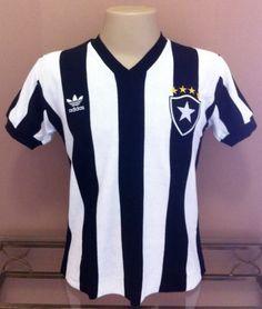 Botafogo Home Brazil Retro Jersey Soccer Football Maglia Trikot 3494055916853